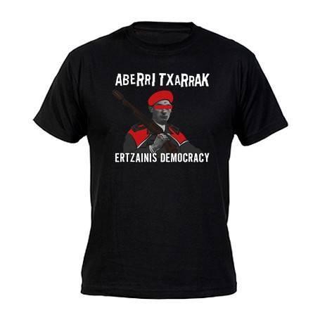 """Camiseta """"Ertzainis Democracy"""""""