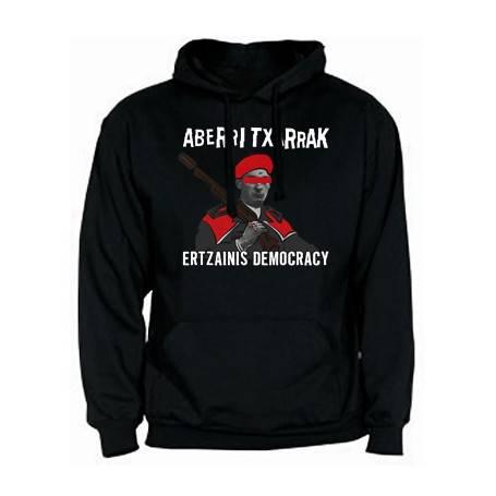 "Sudadera ""Ertzainis Democracy"""