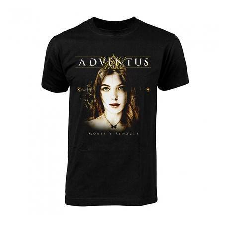 """Camiseta """"Portada Morir y..."""