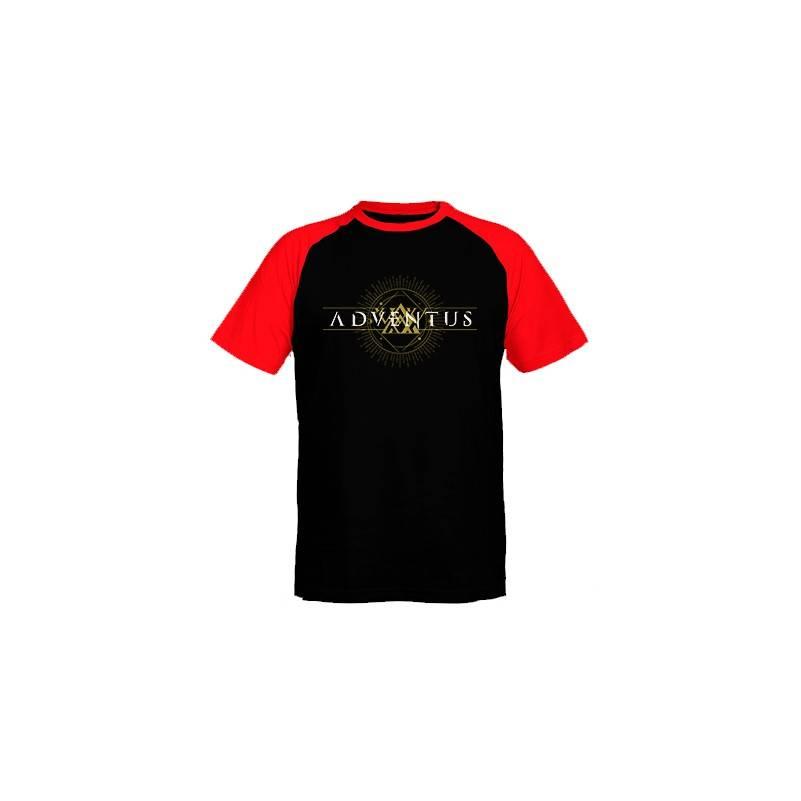 """Camiseta ranglan mangas rojas chico """"Logo Horizontal"""""""