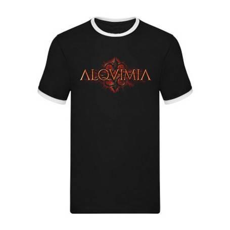"Camiseta con ribete ""Logo..."