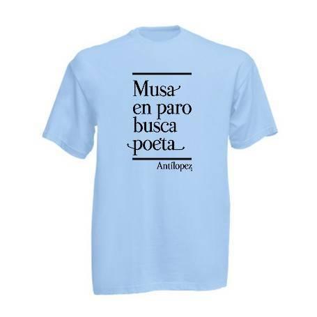 """Camiseta """"Musa en paro"""""""