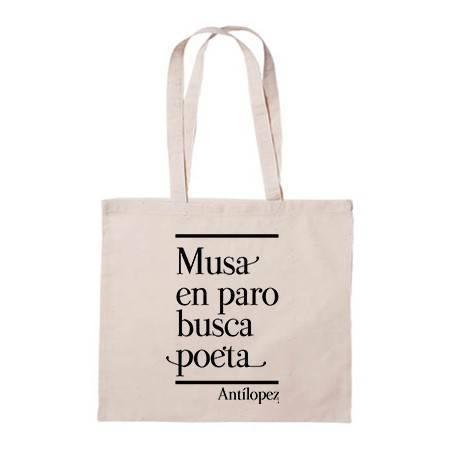 """Bolsa de tela """"Musa en paro"""""""