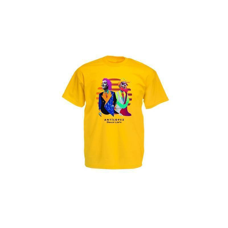 "Camiseta amarillo chico ""Dibujo Libre"""