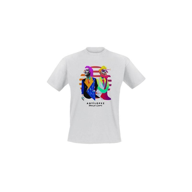 "Camiseta blanca chico ""Dibujo Libre"""