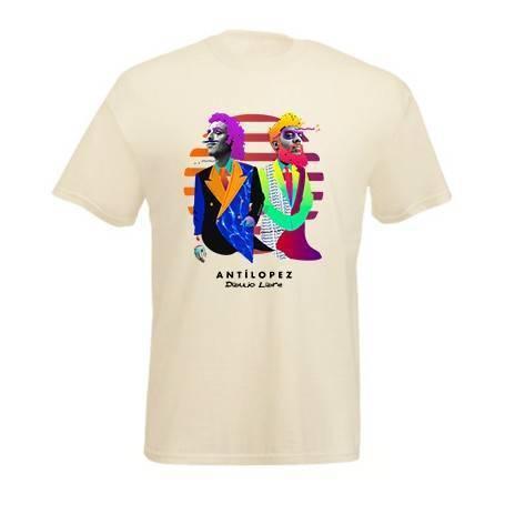 "Camiseta natural chico ""Dibujo Libre"""