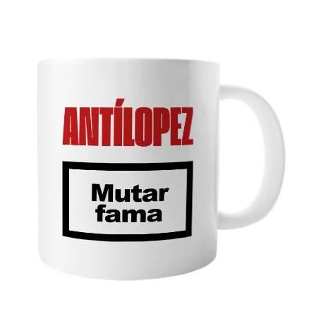 """Taza cerámica """"Mutar Fama"""""""