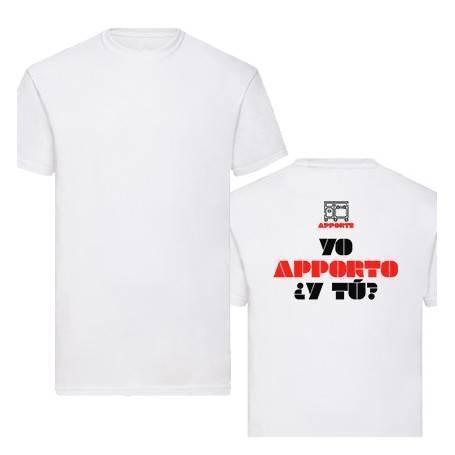 """Camiseta """"Yo aporto, ¿y..."""