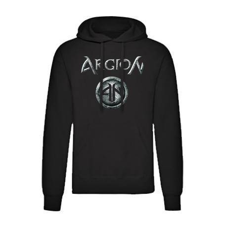 "Sudadera negra ""Logo Argion"""