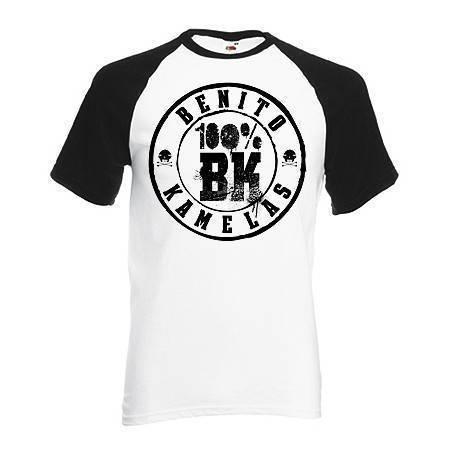"""Camiseta ranglan """"100% BK"""""""