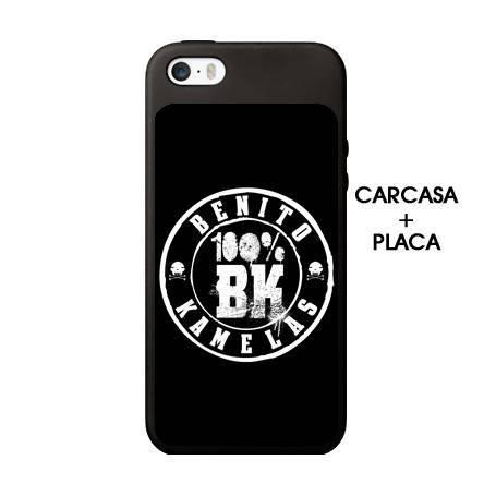 """Funda de Iphone """"100% BK"""""""