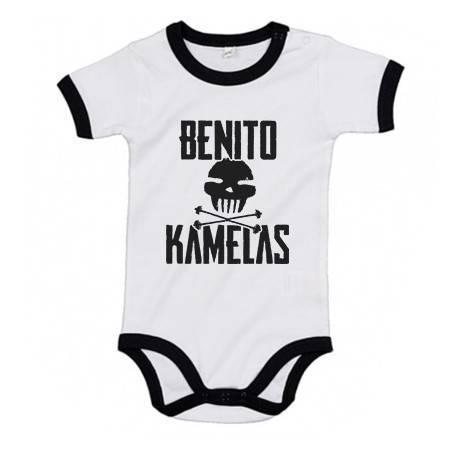"""Body bebé con ribete """"Logo..."""
