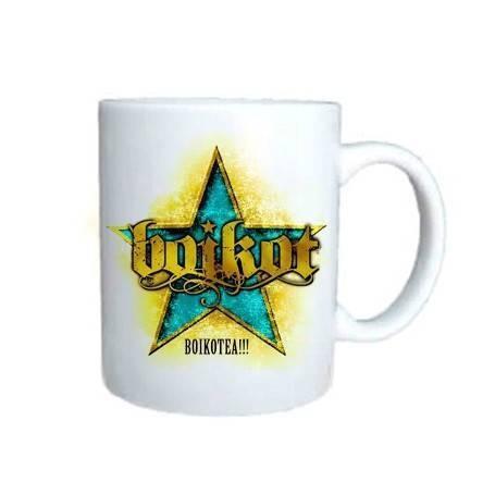 """Taza cerámica """"Boikotea"""""""