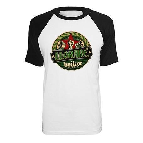"""Camiseta ranglan """"Lloraré"""""""
