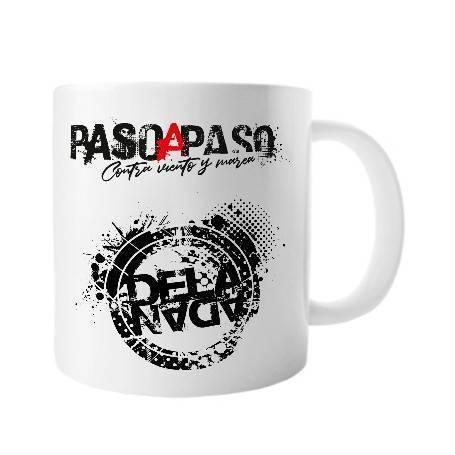 """Taza cerámica """"Paso a Paso..."""