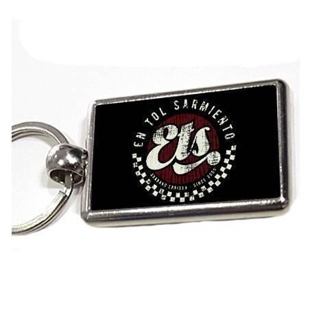 """Llavero metálico """"Logo ETS"""""""