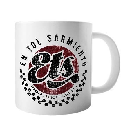 """Taza cerámica """"Logo ETS"""""""