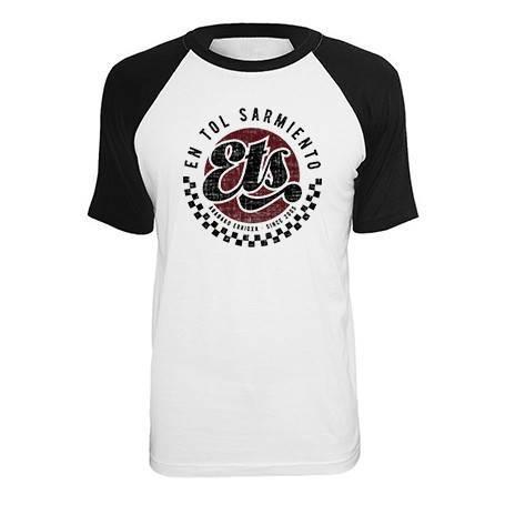 """Camiseta ranglan """"Logo ETS"""""""