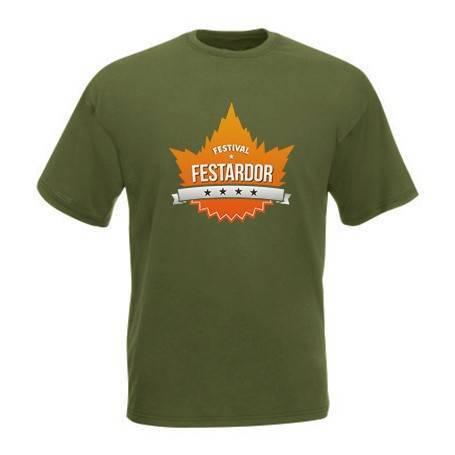 """Camiseta verde militar """"Logo"""""""