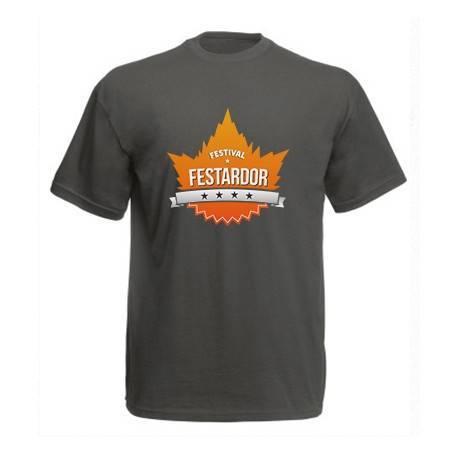 "Camiseta gris ""Logo"""