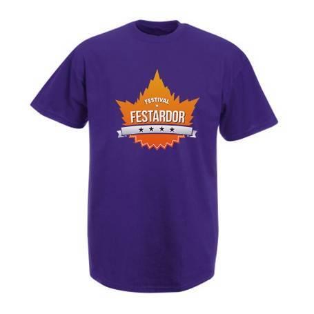 "Camiseta morada ""Logo"""