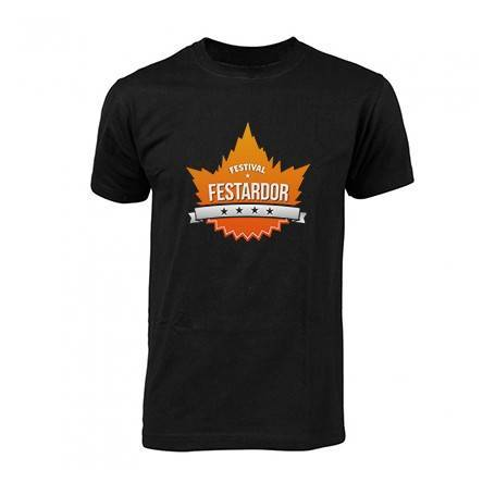 "Camiseta negra ""Logo"""