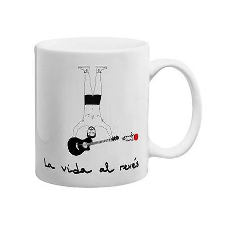 "Taza cerámica ""La vida al..."