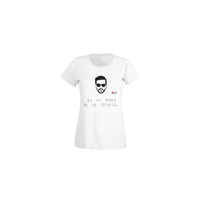 """Camiseta chica """"En un andén de la estación"""""""