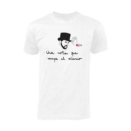 """Camiseta """"Una nota"""""""