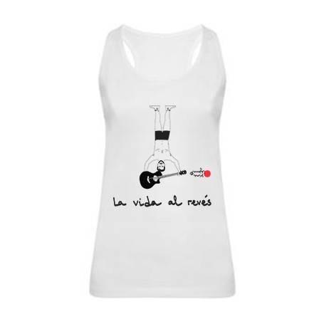 """Camiseta tirantes """"La vida..."""