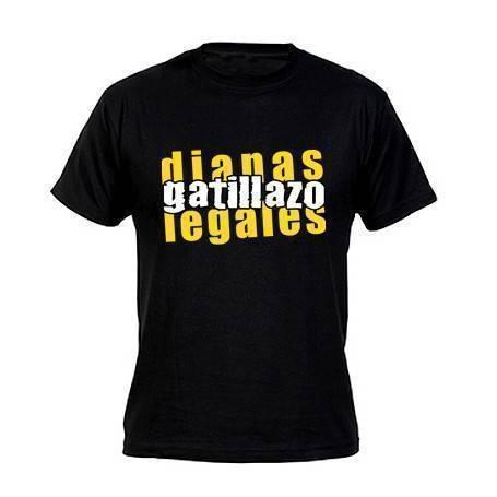 """Camiseta """"Letras Dianas..."""