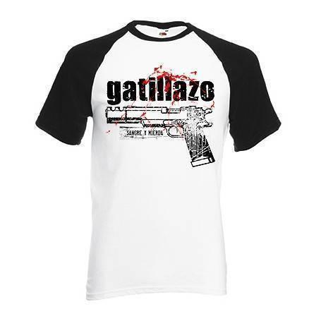 """Camiseta ranglan """"Pistola"""""""