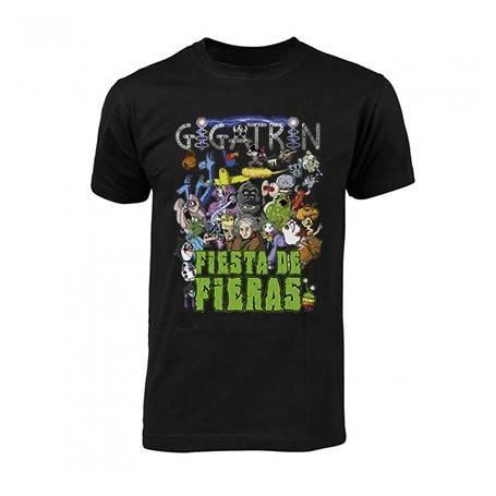 """Camiseta """"Portada Fiesta de..."""