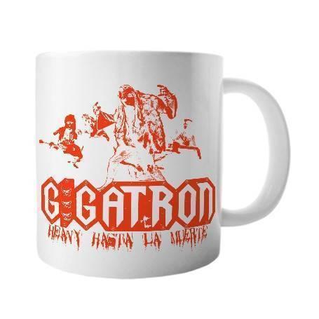 """Taza cerámica """"Heavy hasta..."""
