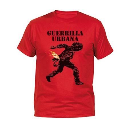 """Camiseta """"Guerrilla Logo..."""