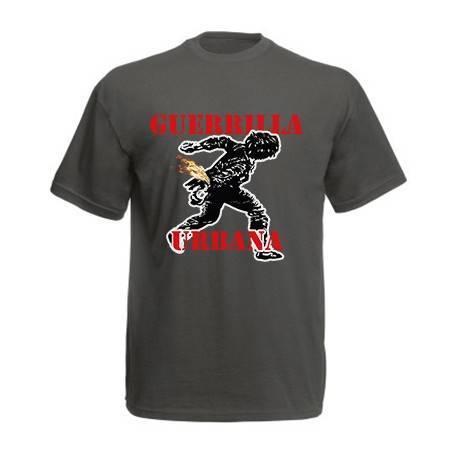 "Camiseta ""Guerrilla Logo Rojo"""