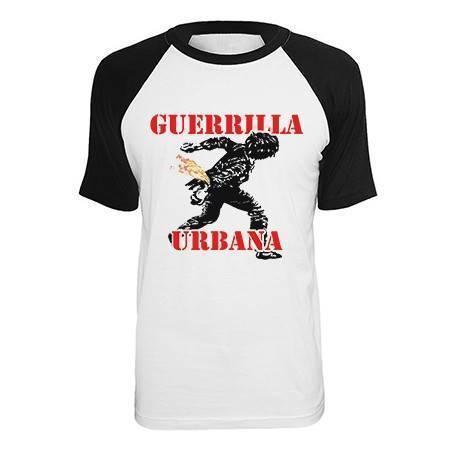 "Camiseta ranglan ""Guerrilla..."