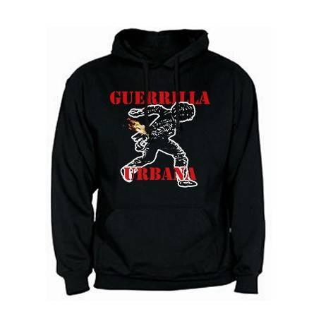 "Sudadera ""Guerrilla Logo Rojo"""