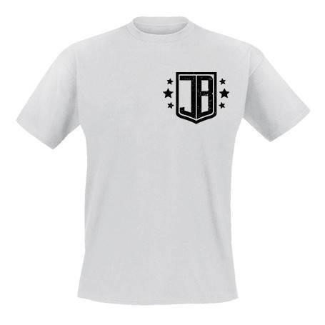 """Camiseta escudo pecho """"JB"""""""