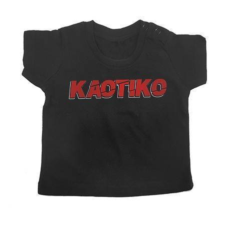 """Camiseta bebé """"Logo Rojo"""""""