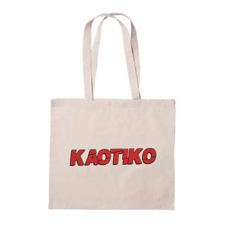 """Bolsa de tela """"Logo Rojo"""""""