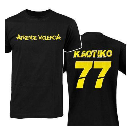 "Camiseta ""77"" con trasera"