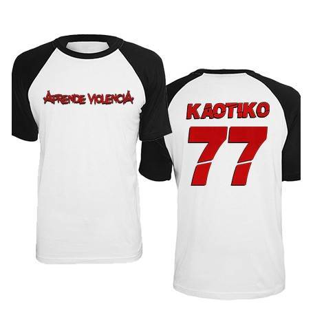 """Camiseta ranglan """"77"""" con..."""