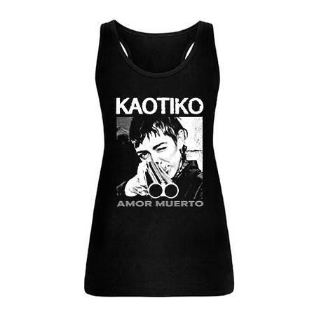 "Camiseta tirantes chica ""Amor Muerto"""