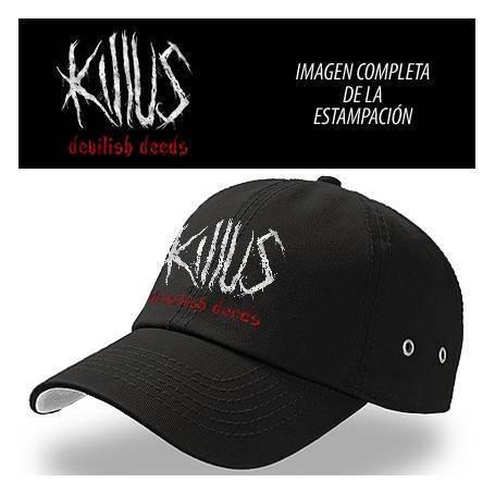 """Gorra negra """"Logo Devilish..."""