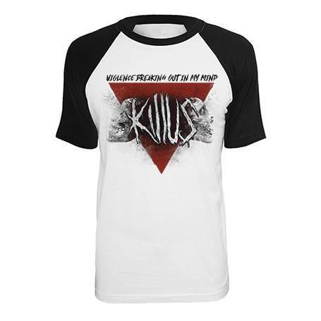 """Camiseta ranglan """"Violence"""""""