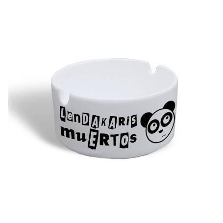 "Cenicero ""Logo + Oso"""