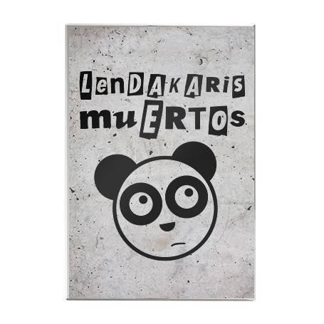 """Imán acrílico """"Logo + Oso"""""""