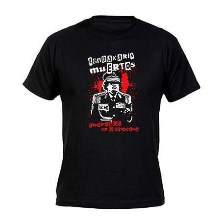 """Camiseta """"Gadafi"""""""