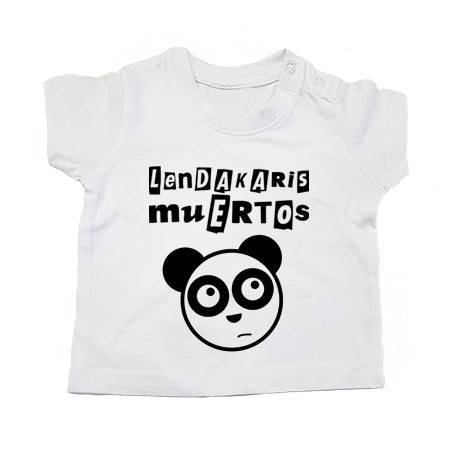 "Camiseta bebé ""Logo + Oso"""